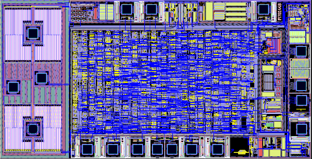 Neutron Mikroelektronik ASG Chip Foto